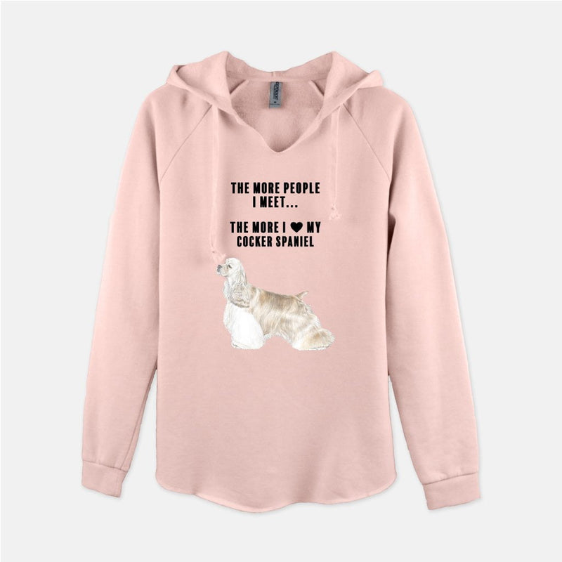 Cocker Spaniel Love Women's Sweatshirt