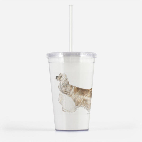 Cocker Spaniel Beverage Tumbler
