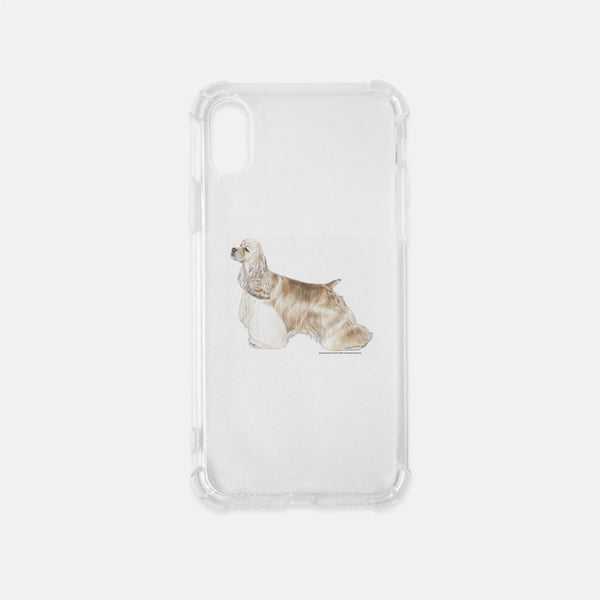 Cocker Spaniel Clear Phone Case