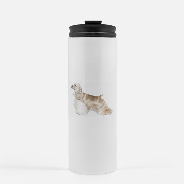 Cocker Spaniel Thermal Tumbler