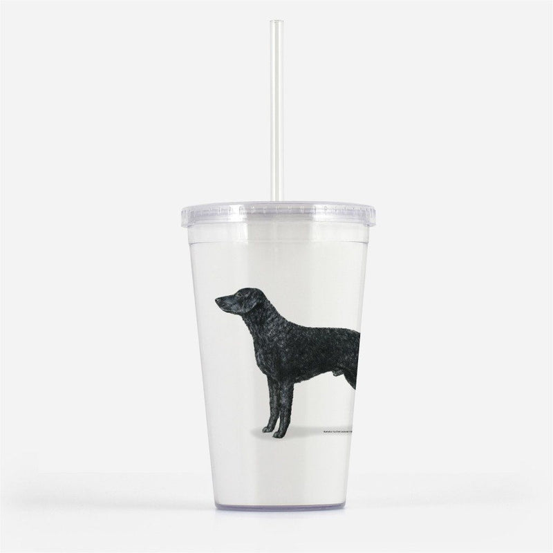 Curly Coated Retriever Beverage Tumbler
