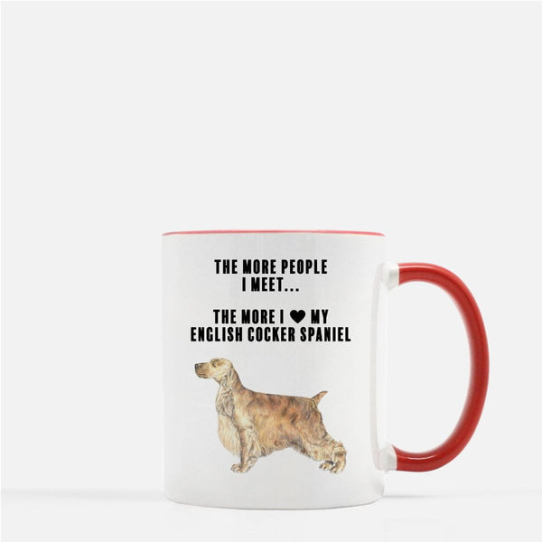 English Cocker Spaniel Love Coffee Mug