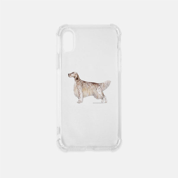 English Setter Clear Phone Case