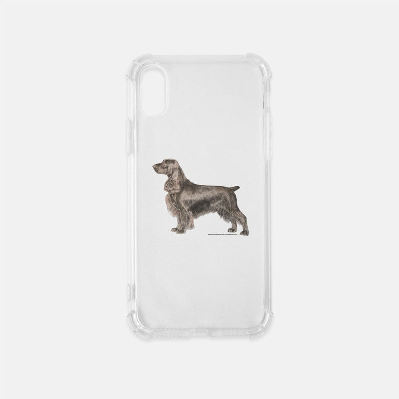 Field Spaniel Clear Phone Case