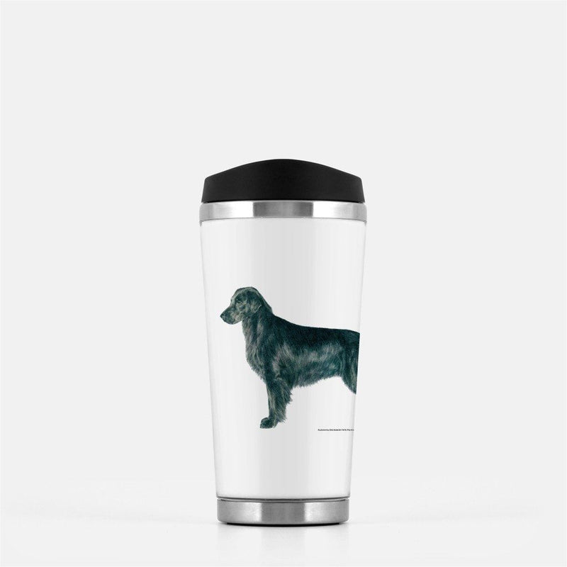 Flat Coated Retriever Travel Mug