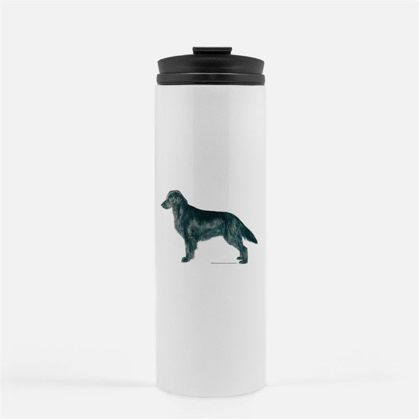 Flat Coated Retriever Thermal Tumbler