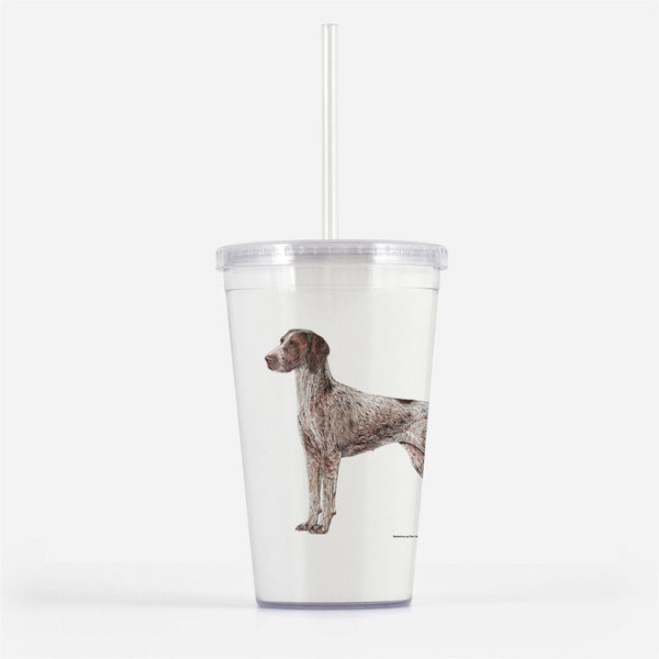 German Shorthaired Pointer Beverage Tumbler