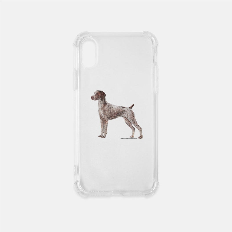 German Shorthaired Pointer Clear Phone Case