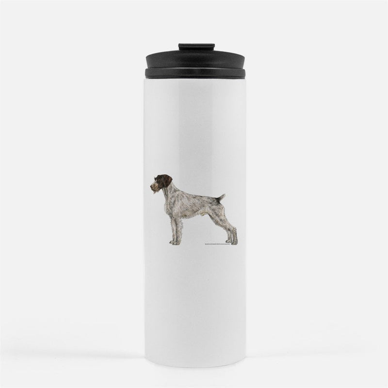 German Wirehaired Pointer Thermal Tumbler