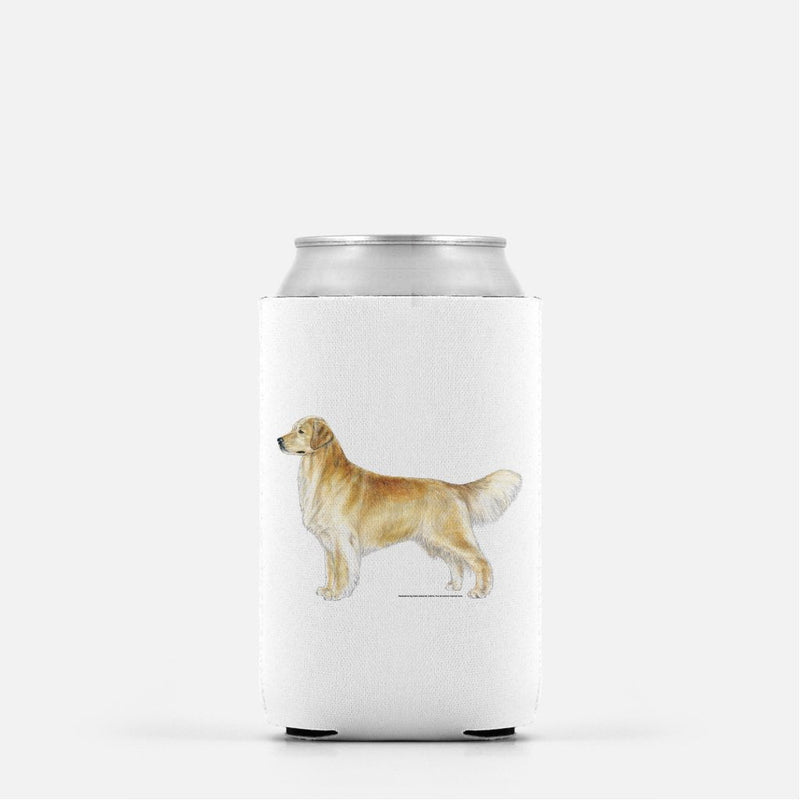 Golden Retriever Koozie