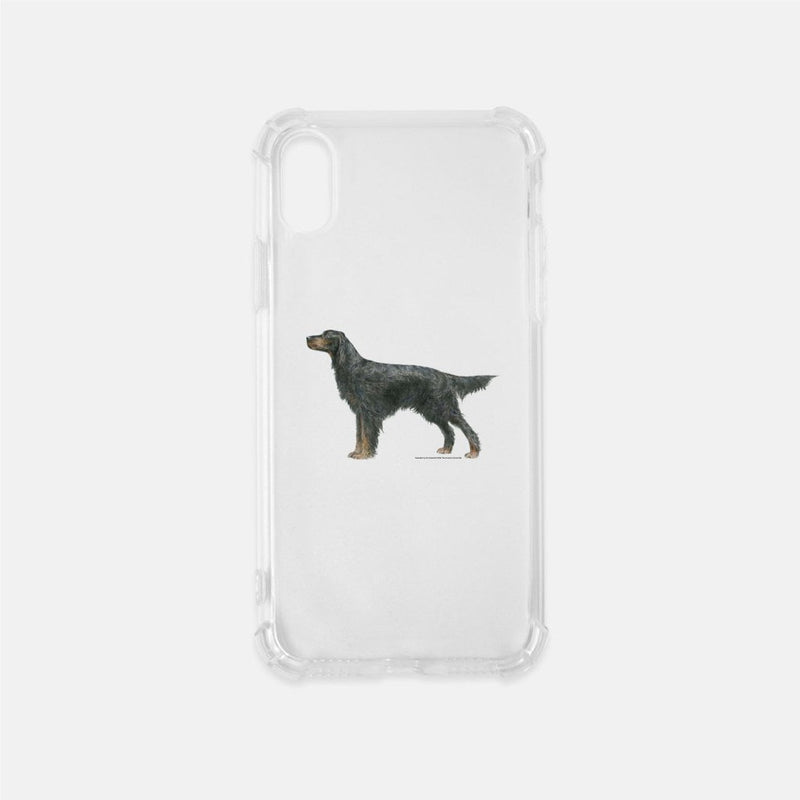 Gordon Setter Clear Phone Case