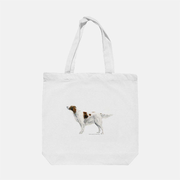 Irish Red and White Setter Tote Bag