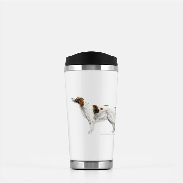 Irish Red and White Setter Travel Mug