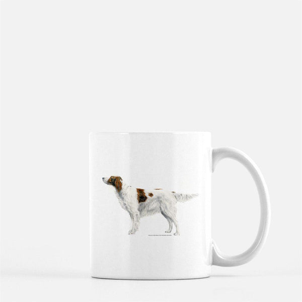 Red and White Irish Setter Coffee Mug