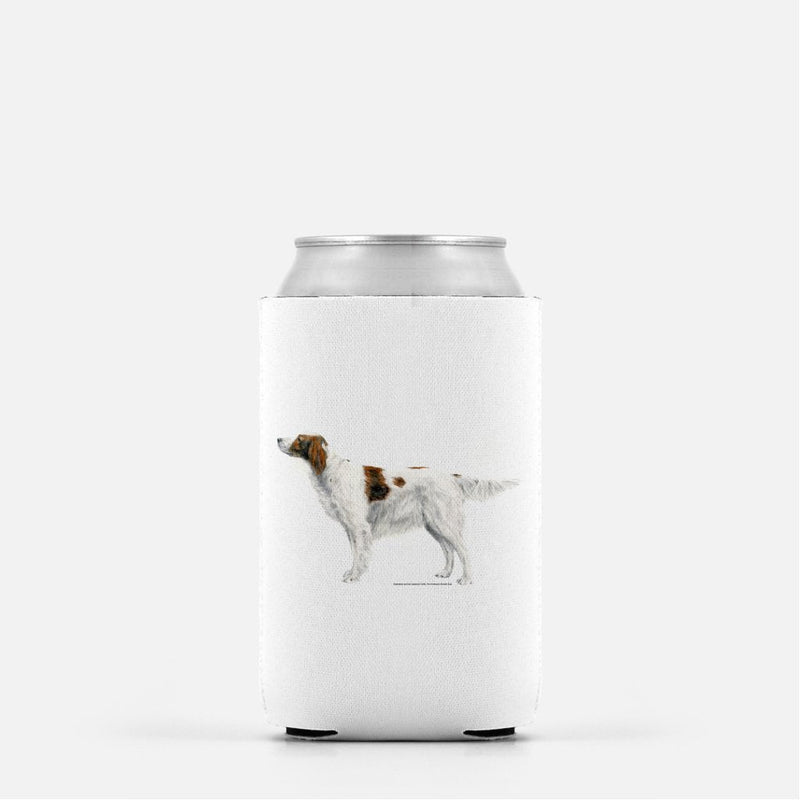 Irish Red and White Setter Koozie