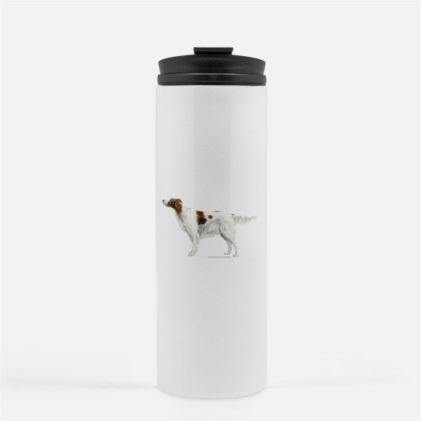 Irish Red and White Setter Thermal Tumbler