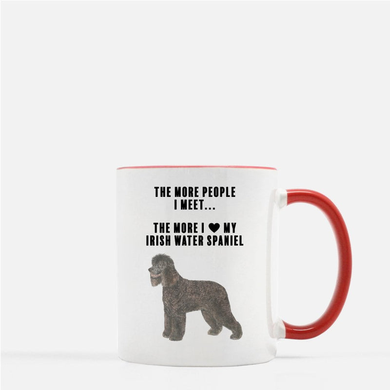Irish Water Spaniel Love Coffee Mug
