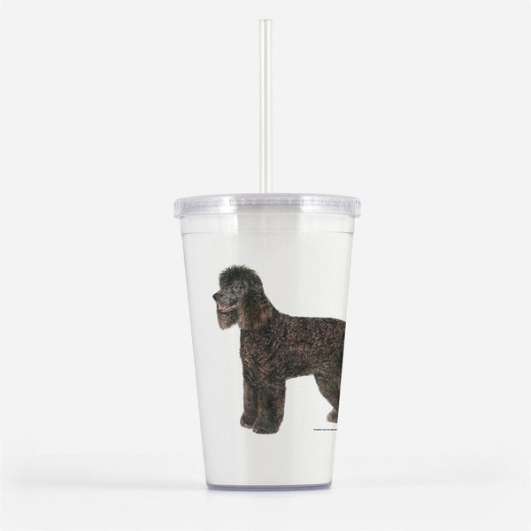 Irish Water Spaniel Beverage Tumbler