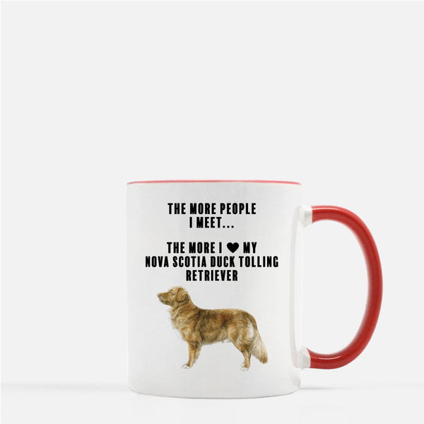 Nova Scotia Duck Tolling Retriever Love Coffee Mug