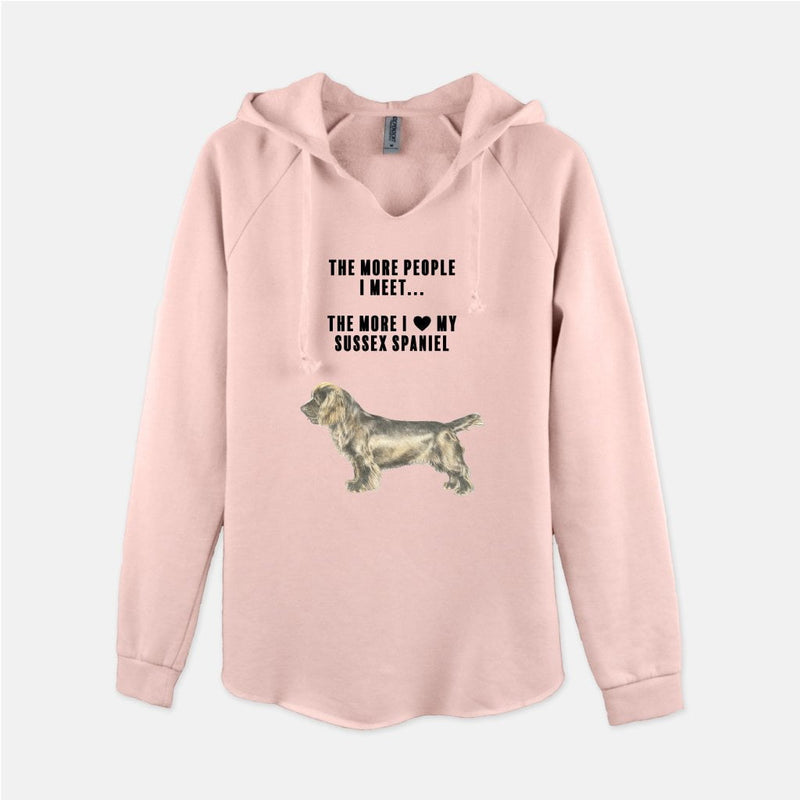 Sussex Spaniel Love Women's Sweatshirt
