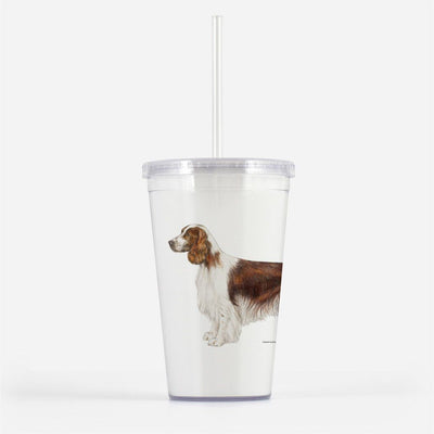 Welsh Springer Spaniel Beverage Tumbler