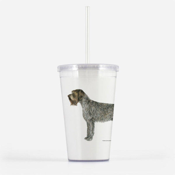 Wirehaired Pointing Griffon Beverage Tumbler