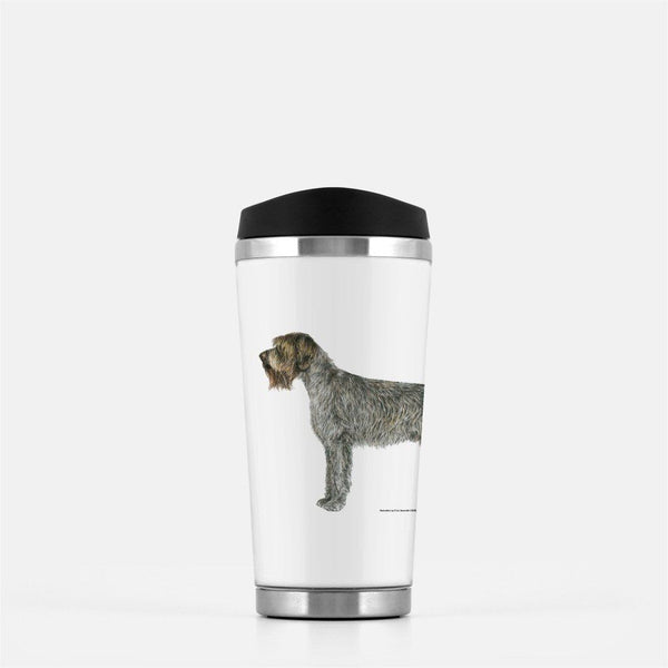 Wirehaired Pointing Griffon Travel Mug