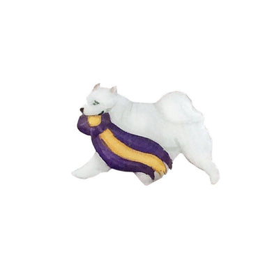 Hand-Painted Samoyed Pin