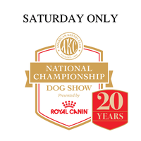 AKC National Championship Live Breed Judging (Saturday ONLY)