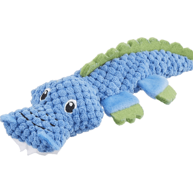 Frisco Puppy Lil' Romps Textured Alligator Dog Toy