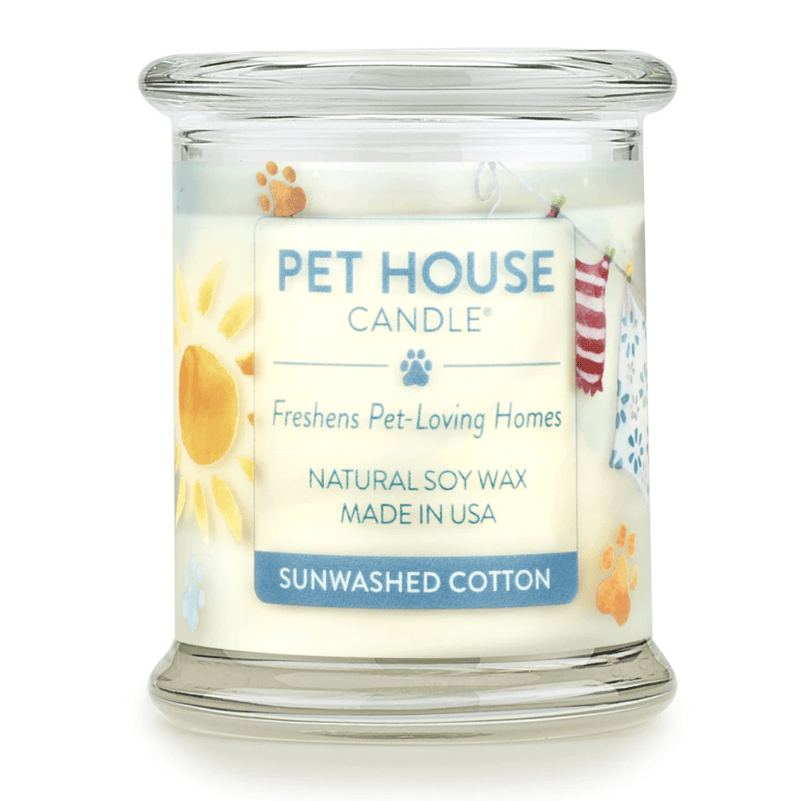 Sun-washed Cotton Large Candle