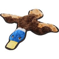 Frisco Flat Plush Squeaking Duck Dog Toy
