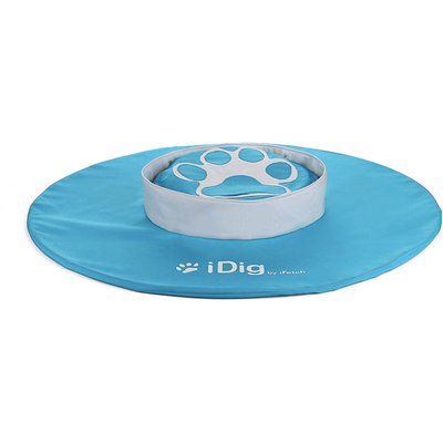 iFetch iDig Go Dog Toy, Blue
