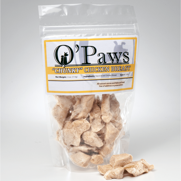 O'Paws Chunky Chicken Breast Treats