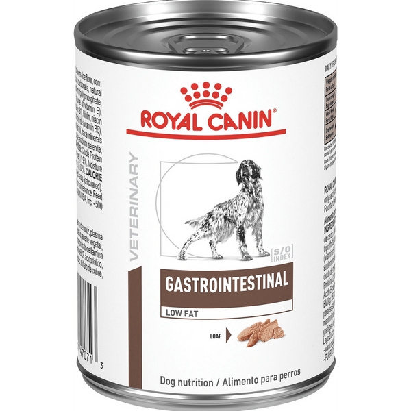 Royal Canin Veterinary Diet Gastrointestinal Low Fat Canned Dog Food, 13.6-oz can, case of 24