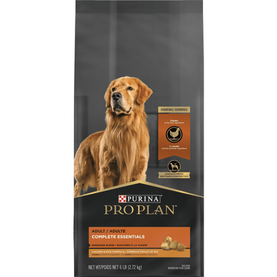 Purina Pro Plan Adult Shredded Blend Chicken & Rice Formula Dry Dog Food