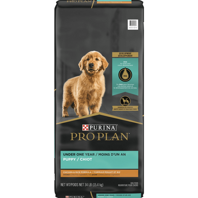 Purina Pro Plan Puppy Chicken & Rice Formula Dry Dog Food