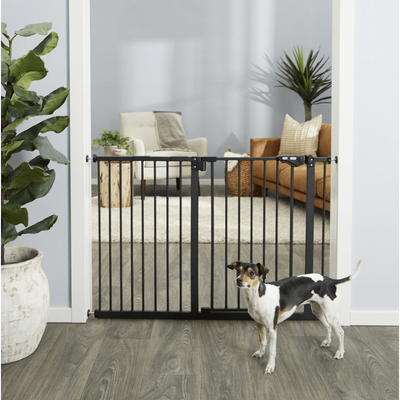 Frisco Extra Wide Auto-Close Pet Gate, 30-in Height