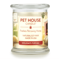 Holidays Fur All Large Candle