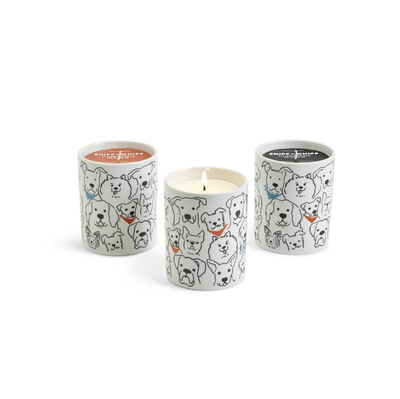 Dog Crew Scented Soy Wax Candle