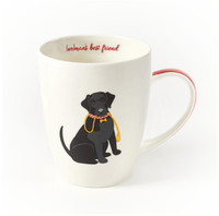 Labrador Retriever, Black, Mug in Gift Box