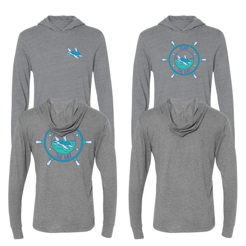 Seas The Day -  Long-Sleeve Hoodie T-Shirt