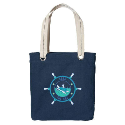 Seas The Day - Canvas Tote