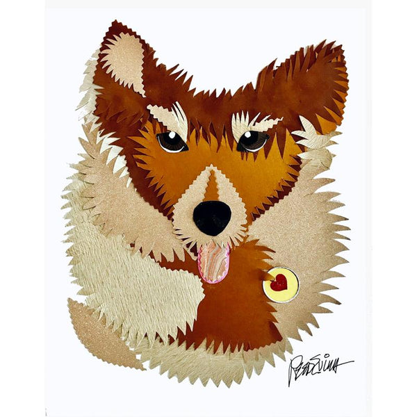 Reed Evins Shiba Inu Dog Collage