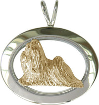 Shih Tzu Sterling & 14k Gold Jewelry