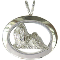 Shih Tzu Oval Jewelry