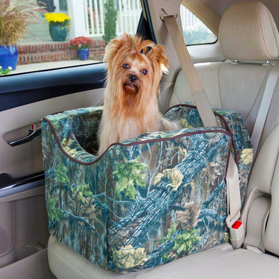 Lookout II Camoflauge Dog Car Seat
