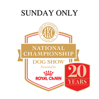 AKC National Championship Live Breed Judging (Sunday ONLY)