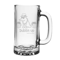Dublin Up With The Irish - Beer Mug