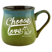 """Choose Love"" Stoneware Mug"
